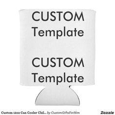 Custom 12oz Can Cooler Chiller Sleeve