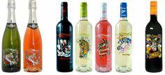 Ed Hardy wines....YUM!