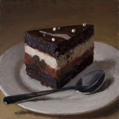 Chocolate Cake by Youqing (Eugene) Wang