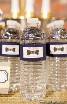 Dapper Birthday Bash / Design and Planning by Kaella Lynn Events / Photo by Kelly Freedman #bow #tie #party