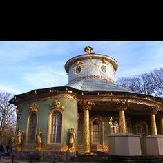 Sanssouci Gardens, Postdam, Deutchland