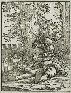Albrecht Altdorfer German, c. 1480-1538 Jael and Sisera, c. 1523 Art Institute Chicago