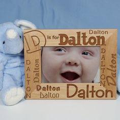 Personalized Name Frame | Children's Name Photo Frame