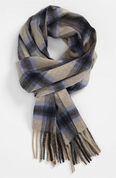 Canali Plaid Scarf available at #Nordstrom