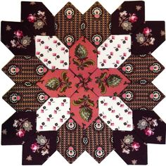 Lucy Boston POTC Block 30 from Pieceful Gathering Quilt Shop.  www.piecefulgathering.com