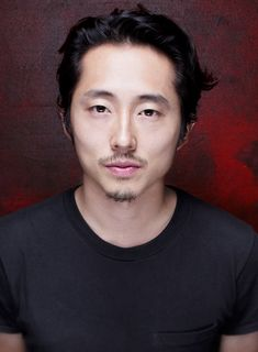 Steven Yeun of 'The Walking Dead' poses for a portrait at Comic-Con International 2015 for Los Angeles Times on July 9, 2015 in San Diego, California.