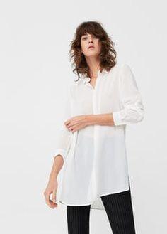 Струящаяся рубашка