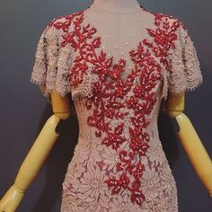 "275 Likes, 4 Comments - Ansoe (@byansoe) on Instagram: ""An'Soe Kebaya for Mrs @lolasiahaan • #ansoe #kebaya #dress #eveningdress #embroidery #embellishment…"""
