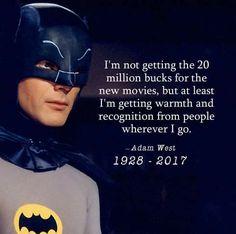 Adam West as Batman Real Batman, Im Batman, Batman Comics, Batman Robin, Superman, Dc Comics, Adam West Batman, Batwoman, Batgirl