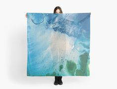 Home decor, fashion and tech solutions by artist @anoellejay @redbubble Acrylic painting on canvas. Environmental Blue and Green Painting # 7. Acrylic painting of the ocean depths with a bubble of life! / 8in by 10 in / 35 Views as of 10/16/2017 / Featured in; • Also buy this artwork on apparel, stickers, phone cases, and more.