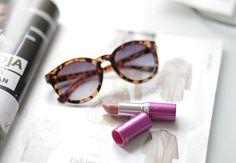 Blogger Jutta found her perfect favorite nude lipstick shade; Lumene Raspberry Miracle Lipstick 08. #lipstick #lumene