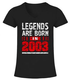 2a7d28ea3 LEGENDS BORN IN 2003 SHIRTS - 14 YEARS GIFT T-SHIRT T Shirt Printing Machine