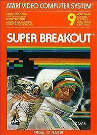 Atari 2600 Super Breakout game