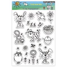 Penny Black Clear Stamp Set, Fresh New Day Penny Black http://www.amazon.com/dp/B0014NNBMQ/ref=cm_sw_r_pi_dp_ZOcswb19E5SAV
