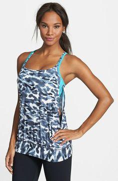 Zella 'Inhale Exhale' Tank   Cute women's athletic wear.