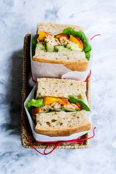 This recipe featuring seasonal products and some delicious wild Irish tuna in olive oil is the perfect solution for a tasty lunch with minimum cooking involved. Tuna and tahini make such a tasty pair! Tuna In Olive Oil, Tasty, Yummy Food, Tahini, Peaches, Irish, Food Photography, Sandwiches, Lunch