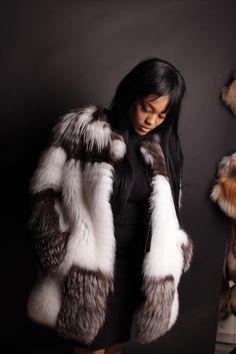 Fur coats custom made from Russian manufacturer Arctic-store.com #coatswomen