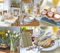Festliche Dekoration zu Ostern selber machen - thematische Tipps  - #Ostern