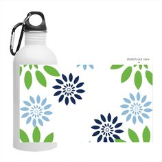 """Approved by lunch ladies and Mother Nature, our 0.6 L Stainless Sports Bottle is perfect for green thinkers on the go (or on campus). Eco-friendly and compact, it's sure to quench your thirst for style and refreshment. These premium Sublimation Stainless Steel mugs add a great premium product to your custom mug making! They can be used for promotional purposes, travel gifts, or simply, as a way to design your own beautiful stainless mug set. It measures 8.5""""(H) x 2.9""""(D), 600 m..."""