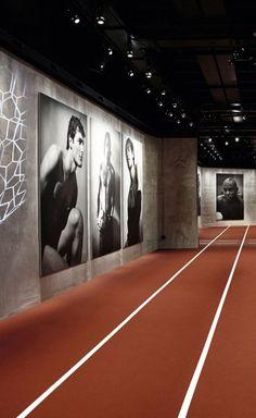 *Armani/Silos*,* Emotions of the Athletic Body*, exhibition view. Photo by  Alberto Zanetti.