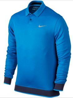 best value cbe21 6b99d El polo de golf para hombre Nike Transition Warm está confeccionado con un  suave tejido Dri