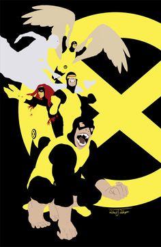 X-Men by Richard J. Rodriguez