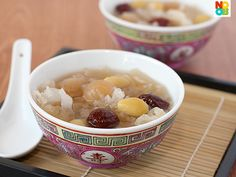 Simple recipe for this refreshing and sweet Chinese dessert.