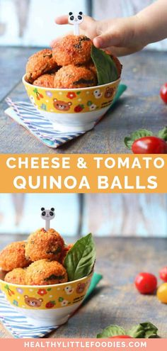 These cheese and tomato quinoa bites are full of flavour and great for baby-led weaning, toddlers and big kids. Delicious hot and cold making them perfect for the lunchbox or as an after school snack. Toddler Meals, Baby Food Recipes, Kids Meals, Healthy Recipes, Toddler Food, Detox Recipes, Healthy Lunches For Work, Work Lunches, Recipes