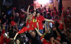 Cheer on the Chicago Blackhawks at Toby Keith's I Love This Bar in Rosemont during a special party Saturday night.