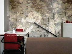 Stark interior. Like stylized composition