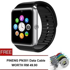 Buy GT08 SmartWatch Wearables Smart Watch with Hands-Free Call + FREE Pineng PN301 Cable 2in1 online at Lazada. Discount prices and promotional sale on all. Free Shipping.