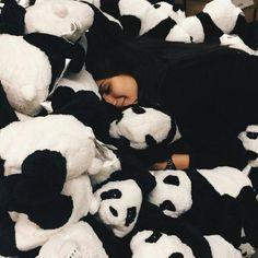 black is my favorite Panda Love, Cute Panda, Happy Panda, Girl Photo Poses, Girl Photos, Happy Smiley Face, Baby Panda Bears, Cosy Outfit, Profile Pictures Instagram