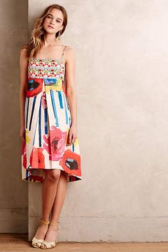 Brushed Blooms Dress