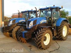 Newholland T7200 x2Both 50k1 OWNER FROM NEWAs new condition 1 Nov 2013        5400 hours  Tyres 90%1 March 2014     4200 hours  Tyres 40%#xtor=CS1-41-[share]