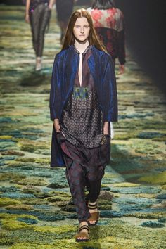 Dries Van Noten Spring 2015 Ready-to-Wear Collection