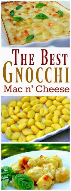 VIDEO + Recipe for The Best Gnocchi Mac n' Cheese from NoblePig.com.