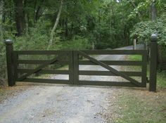 black fence gate middleburg virginia - Google Search