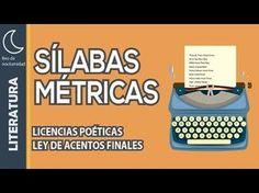 La métrica y las licencias poéticas - YouTube