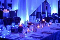 Austin Texas Event, Room Wash, Floral Pinspotting, Uplighting, Drapery lighting, Intelligent Lighting Design, ILD Lighting,