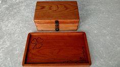 Stash box and rolling tray, keepsake box and desk tray, pipe box, catchall tray…