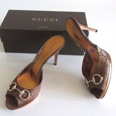 cf8186b5b595 new GUCCI GG horsebit platform slide sandals 42 12
