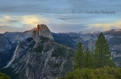 "Photo by: Eric Rosen‎  ""Half a Dome. Sometime around sunset in Yosemite National Park on 05-17-2014""  Visit #Yosemite & #Mariposa: http://www.yosemiteexperience.com/"