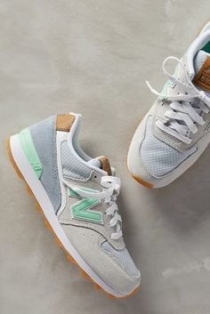 1dfeffb9cd1 New Balance 696 Sneakers Grey green most beautiful pair of shoes ever.