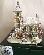 "Lilliput Lane House "" Winter At Moot Hall Keswick """