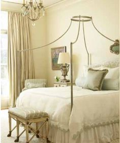 These bedrooms score high marks for their fabulous country French aesthetic and supremely relaxing auras French Country Bedrooms, Country French, Bedroom Photos, Bedroom Ideas, Bedroom Decor, Beautiful Bedrooms, Romantic Bedrooms, Cottage Style Homes, Guest Suite