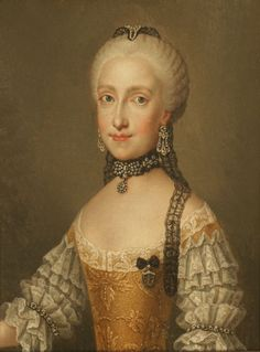 1792 (before) Maria Ludovica of Spain by Etienne Liotard (location unknown to gogm)   Grand Ladies   gogm