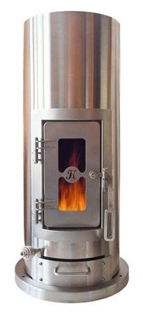 The Kimberly Stove EPA Certified Small Wood Stove with optional Generator