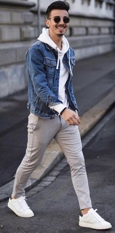 Casual street style outfit for men. - Casual street style outfit for men. Source by michaeltost - Stylish Mens Outfits, Casual Fall Outfits, Men Casual, Outfits For Men, Black Outfits, Casual Suit, Casual Outfit For Men, Best Outfits, Casual Shoes
