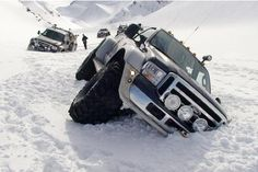 Sometimes, having a super jeep in Iceland is not necessarily the solution…