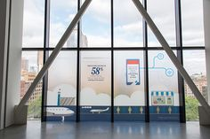 """Findings and stats from Facebook's IQ platform were displayed in prominent signage. Momentum Worldwide, which provided the signage and produced, """"helped bring the entirely of the event to life, from experience design to talent to activation,"""" Bryndza said."""